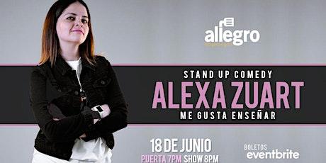 Alexa Zuart | Stand Up Comedy | Ensenada boletos