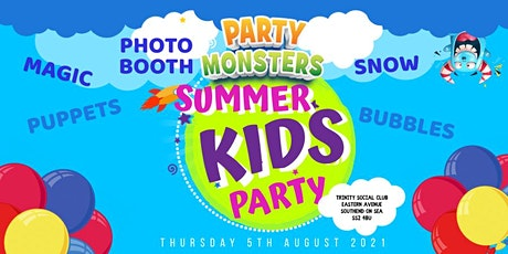 Party Monsters Summer Kids Party tickets
