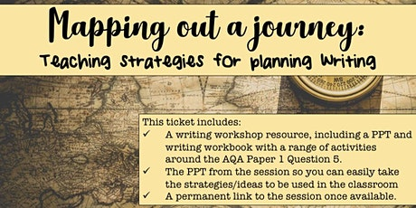 Mapping Out a Journey: Teaching Strategies for Planning Writing tickets