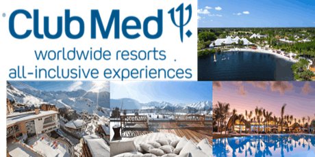 Club Med will be joining us during our April Travel Club! tickets