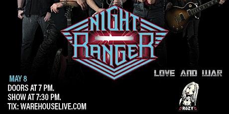NIGHT RANGER, LOVE & WAR, RoZY tickets