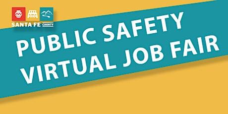 Public Safety Virtual Job Fair tickets