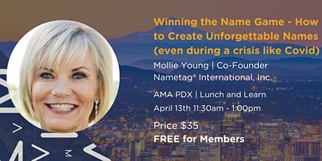 Winning the Name Game: How to Create Unforgettable Names tickets