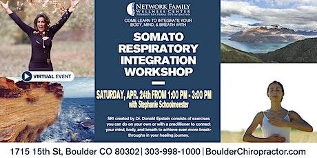Somato Respiratory Integration Workshop [Virtual] tickets