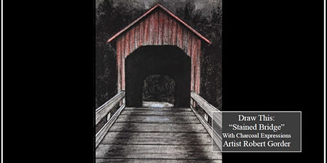 Virtual Charcoal Drawing Event - Stained Bridge tickets