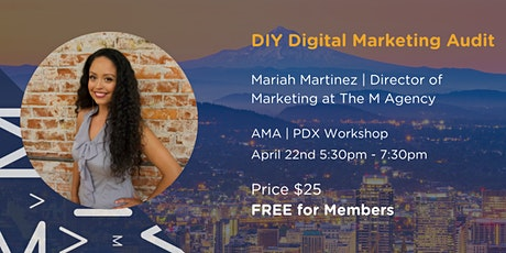 DIY Digital Marketing Audit tickets