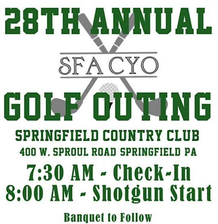 SFA CYO Golf Outing image