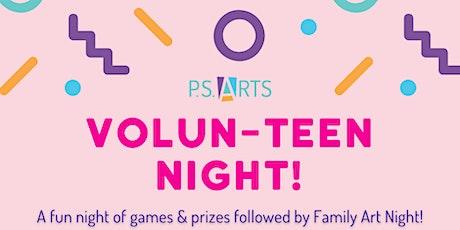 Volun-TEEN Night! tickets