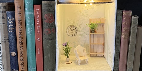 Camrose Public Library Adult Craft Night - Bookcase Diorama tickets