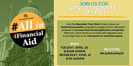Ed Trust-West's Ed Equity Advocacy Day tickets