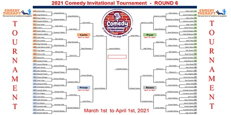 The Comedy Invitational Tournament - Winners Live Special- April 24th tickets