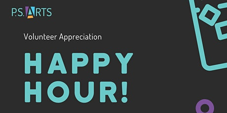 Volunteer Appreciation Happy Hour! tickets
