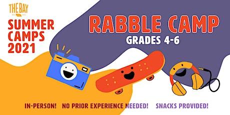 Rabble Camp (June 1-4, Grades 4-6) tickets