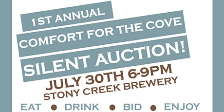 Comfort for The Cove Silent Auction Dinner tickets