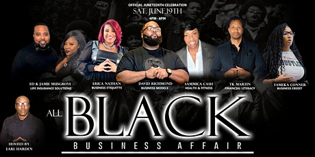 ALL BLACK BUSINESS AFFAIR tickets