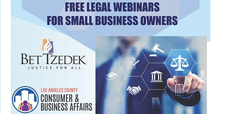 Bankruptcy Law for Small Businesses tickets