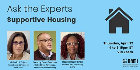 Ask the Experts: Supportive Housing tickets