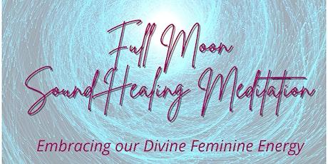 Full Moon Sound Healing Meditation tickets