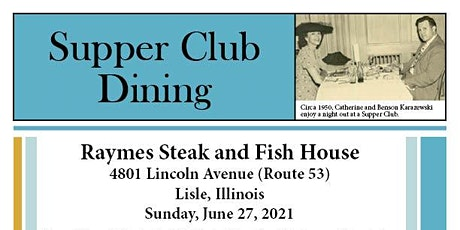 Supper Club Dining tickets