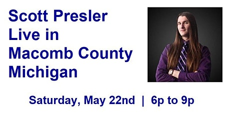 Scott Presler Live in Macomb County Michigan tickets