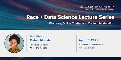 Race + Data Science: Mutale Nkonde, AI for the People tickets