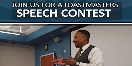 District 57 Toastmasters - International Speech Contest tickets