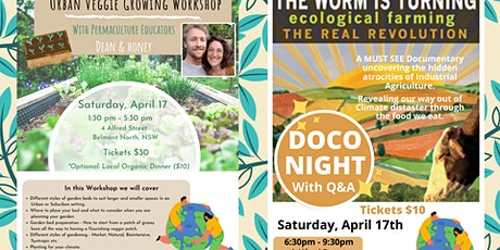 Urban Veggie Growing Workshop & The Worm is Turning Film Screening tickets