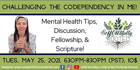 Challenging the Codependency In Me! tickets