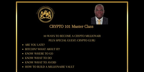 Ubuntu Crypto 101(Master Class) tickets