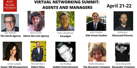 Networking with Agents and Managers tickets