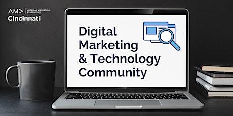 Digital Marketing and Technology Community Tickets
