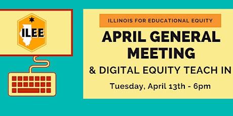 ILEE April General Meeting tickets