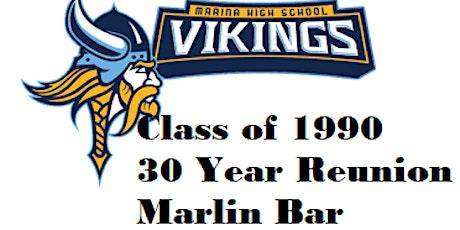 Marina High School Class of 1990 ~ 30 +1 Year Reunion Rescheduled tickets