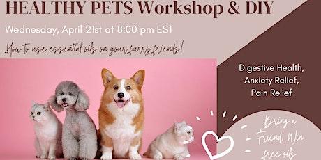 Healthy Pets Workshop & DIY tickets