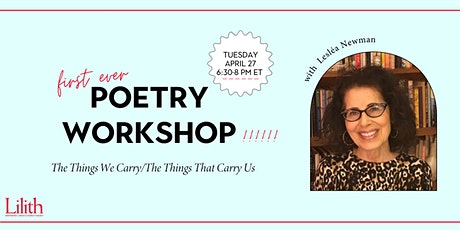 (First Ever!) Lilith Poetry Workshop with Lesléa Newman tickets