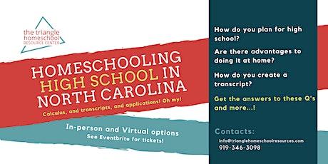Homeschooling High School in North Carolina tickets