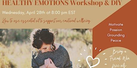 Healthy Emotions Workshop & DIY tickets