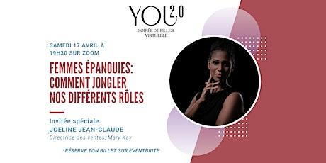 Soirée de filles virtuelle You 2.0- Comment Jongler nos différents rôles billets
