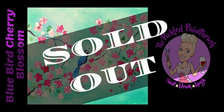 Painting Class - Cherry Blossom Blue Bird - April 17, 2021 tickets