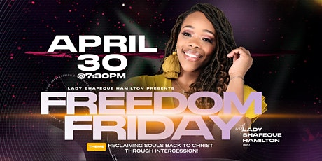 Freedom Friday tickets