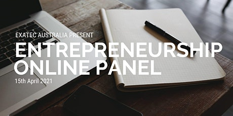 Entrepreneurship Panel tickets