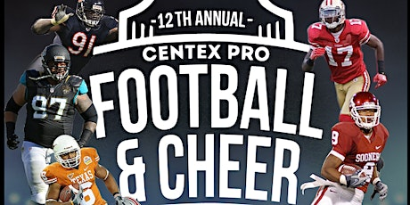 Copy of 12 TH ANNUAL CENTEX FOOTBALL & CHEER CAMP tickets