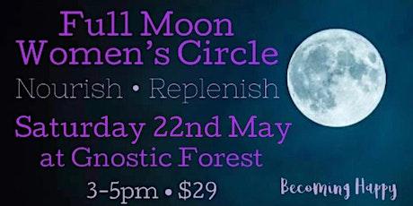 Full Moon in Sagittarius  Women's Circle - 22nd May tickets