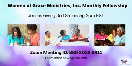 WOG Monthly Fellowship (Virtual) tickets