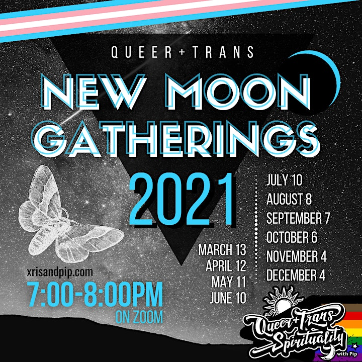 Queer and Trans New Moon Gatherings image