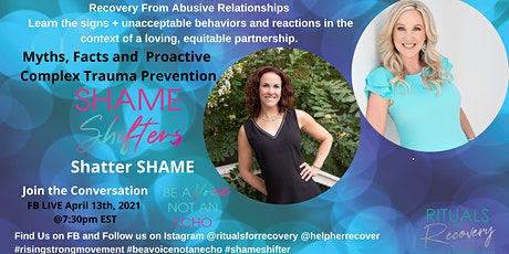 Recovery from Abusive Relationships tickets