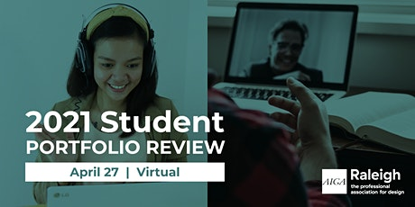 2021 AIGA Raleigh Virtual Student Portfolio Review Tickets