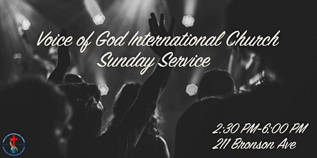 Voice of God International Church Sunday Service tickets