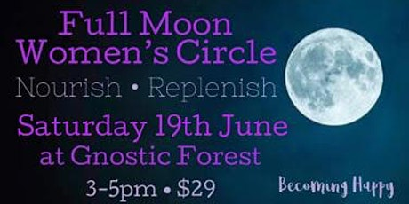 Full Moon in Capricorn Women's Circle - 19th June tickets