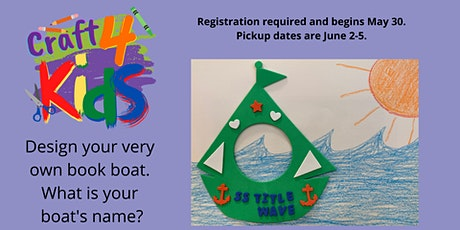 Craft 4 Kids: Book Boat tickets